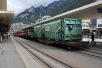 Freight Traffic on the Arosa Line